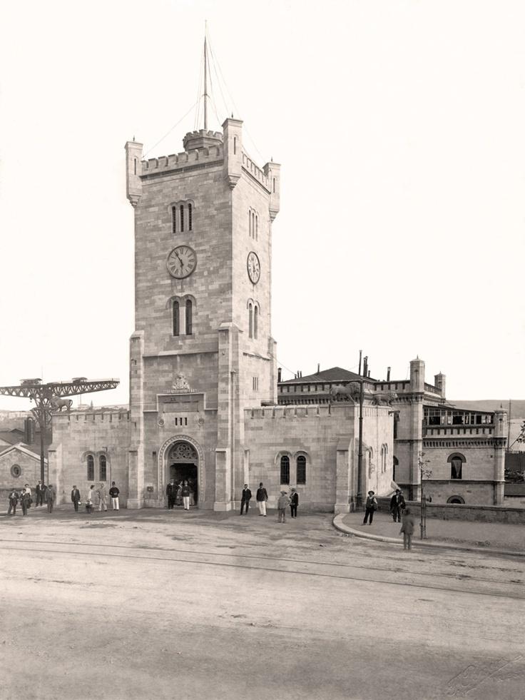 Trieste, la Torre del Lloyd