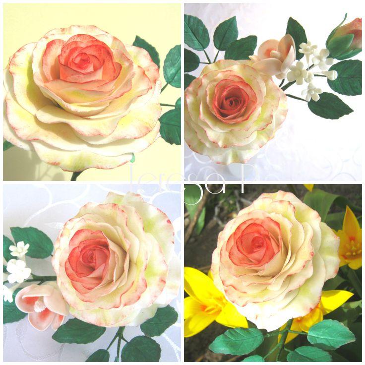 Kwiaty robione bez foremek