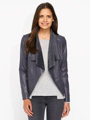 Waterfall Leather Jacket - from Portmans