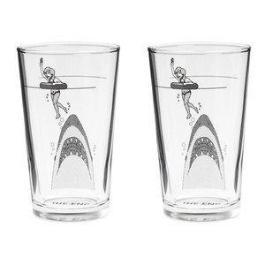 The End Glasses Set Of 2, $25, now featured on Fab.