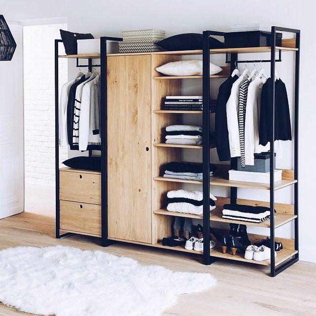 """708 curtidas, 13 comentários - Decoração Minimalista (@decoracaominimalista) no Instagram: """"que armário/closet lindo! Ótima semana, minimalistas."""""""