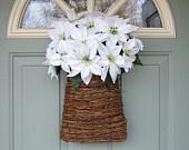Праздник венок, рождественские венки, рождественские венки двери