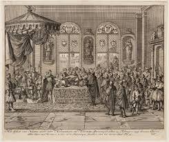 Het Edict van Nantes was  op13 april 1598 door de Franse koning Hendrik IV ingevoerd. De hugenoten konden voortaan hun eigen geloof behouden. Karel IV voerde dit in om de conflicten over godsdienst te laten stoppen.