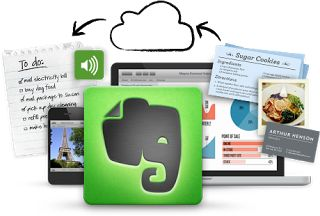 Blog with great step by step how to use Evernote in the classroom. (Scroll halfway down blog). From PurelyPaperless.blog