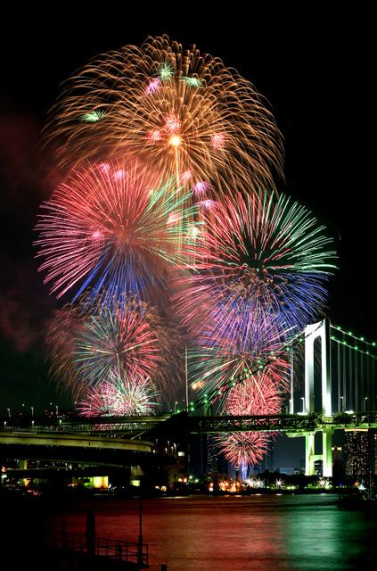 Fireworks Fes, Tokyo Bay