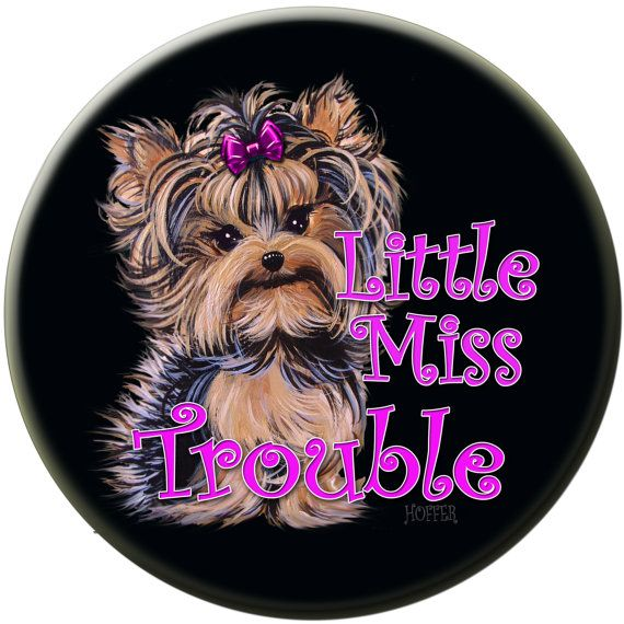 Yorkie Yorkshire Terrier Personalized Miss by ladyjanesposinparlor, $5.99