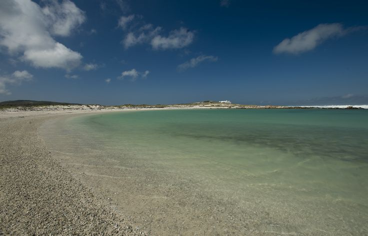 Agulhas lagoon in Agulhas National Park at the southernmost tip of Africa