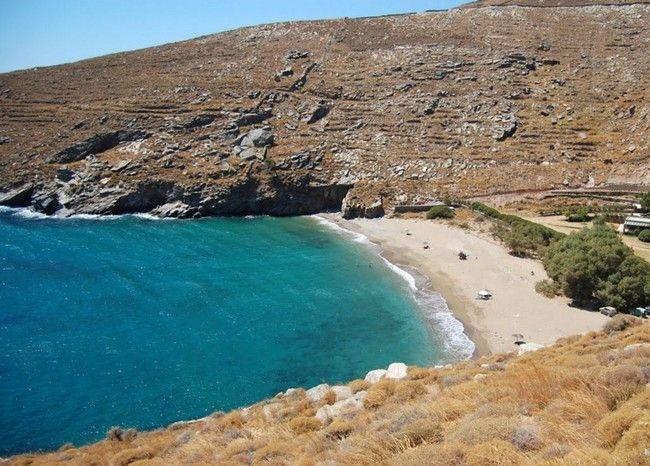 Orkos beach, Kea Island