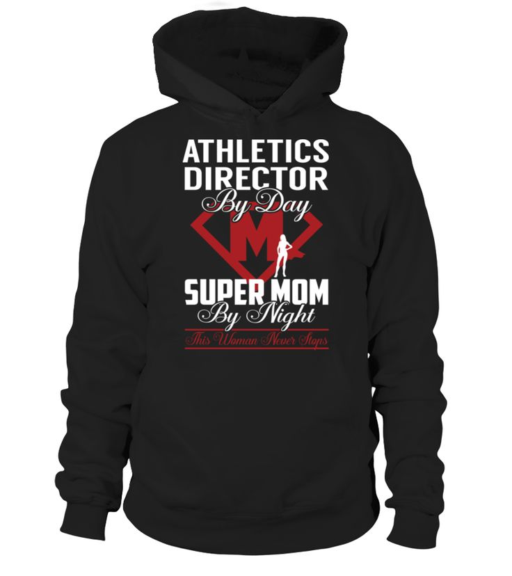 Athletics Director - Super Mom #AthleticsDirector Job Title Shirts