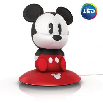 Lovely Philips, Disney SoftPals Mickey Integrated LED Portable Night Light, 797811  At The Home Depot   Mobile