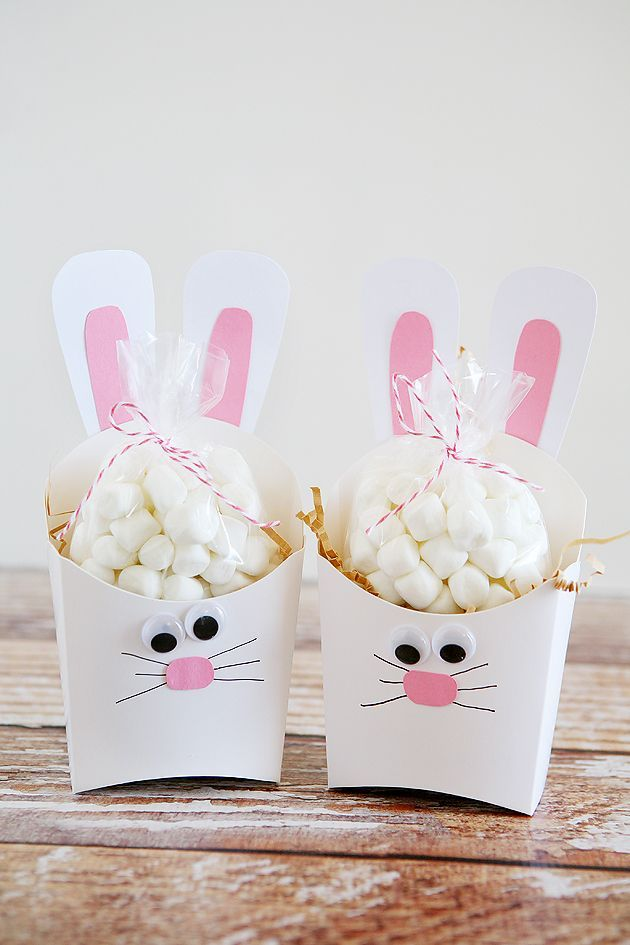 Fry Box Bunny - Easter Treat Containers - Eighteen25
