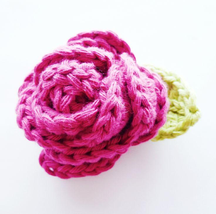 Crochet Rose Pattern (free)