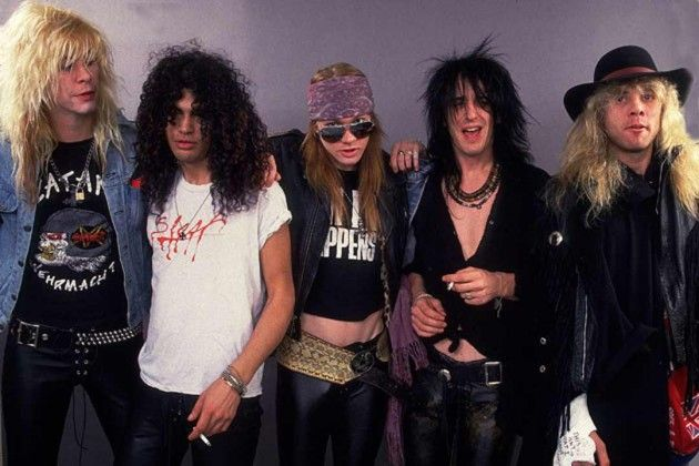 guns n roses on tour now