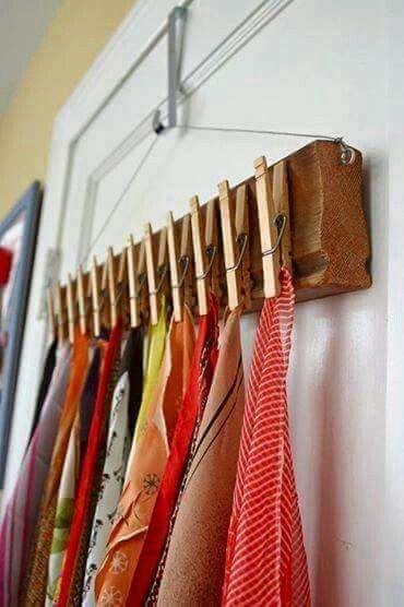 Pendurador de lenços!!