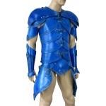 Amazing leather larp armor.