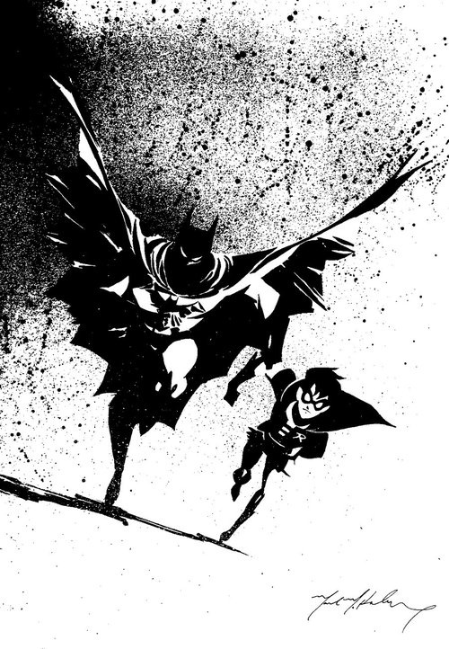 Batman and Robin by *markmchaley