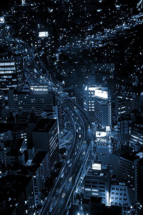 Tokyo night Japan