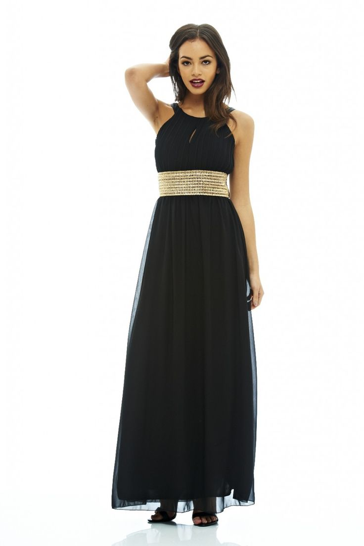 KEYHOLE MAXI DRESS http://bit.ly/1Xbu728