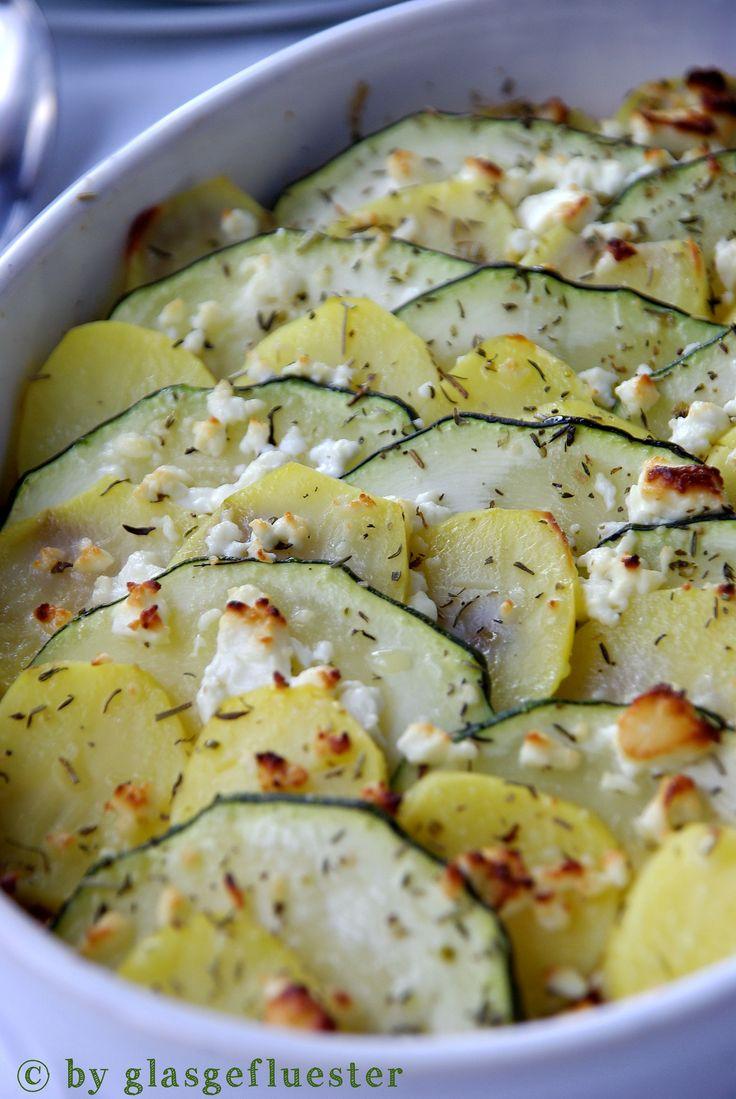 Zucchini-Kartoffel-Auflauf