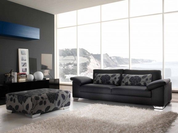 Sofa bed with completely removable covers, that is comfortable