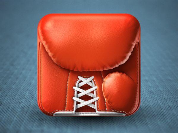 Boxing gloveWebdesign, Web Design, Ios App, Boxes Gloves, Iphone Icons, App Icons, Appicon, Icons Design, Ios Icons