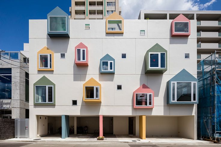 to promote a vibrant and encouraging atmosphere, the architects translated a child-like energy into the design.
