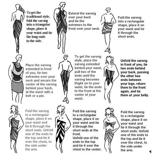 sarong: Sarongs, Idea, Style, Summer, Sarong Ties, Beach, Scarf, Wear