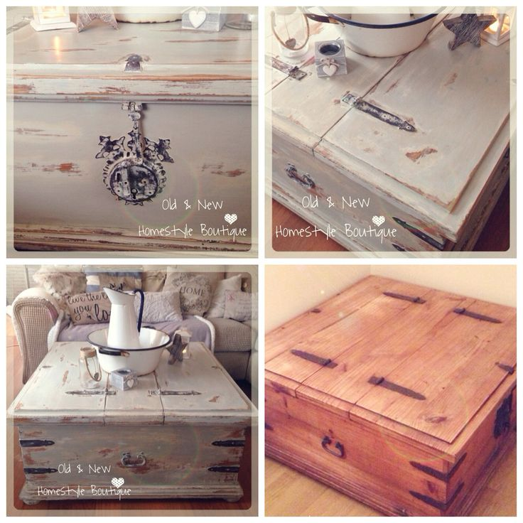 I Ve Given This Old Mexican Pine Chest A Makeover Using