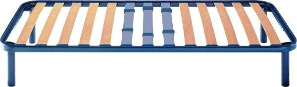 Rete singola in ferro fissa con doghe regolabili in legno ortopedica ( piedi optional)  Cod. orising - Marca: Orione  Rete singola in ferro fissa con doghe regolabili in legno ortopedica ( piedi optional).    Telaio in acciaio da 41x39 mm, verniciato a polveri atossiche.  Doghe in faggio da 68 mm  Portadoghe: rigidi  Taglia consigliata: M - L - XL - XXL  Altezza standar finito da terra 35 cm