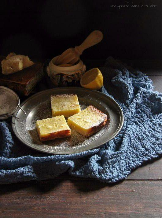 Whole Lemon Ginger Bars | Sweets | Pinterest