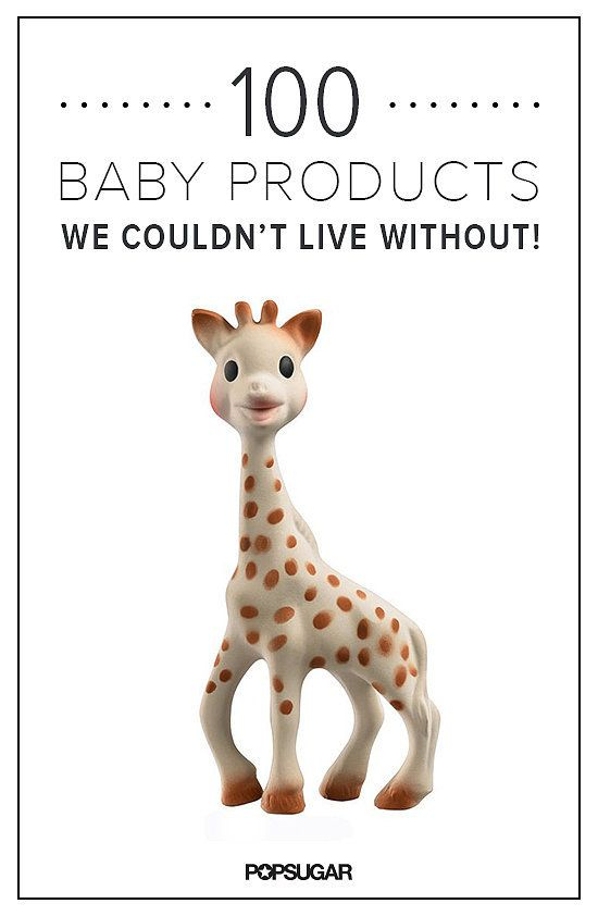 100 Baby Products you can't live without. Most of these products are the same thing, just a different brand.