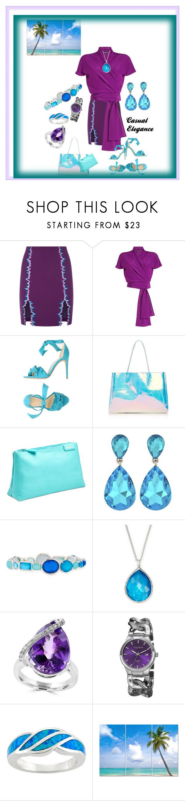 """Casual elegance"" by sinmrn ❤ liked on Polyvore featuring La Perla, Etro, Alexandre Birman, poppin., Ippolita, Effy Jewelry, Akribos XXIV and Sterling"