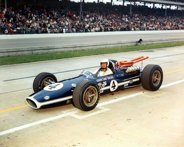 Did Formula  Cars Ever Race At Indy