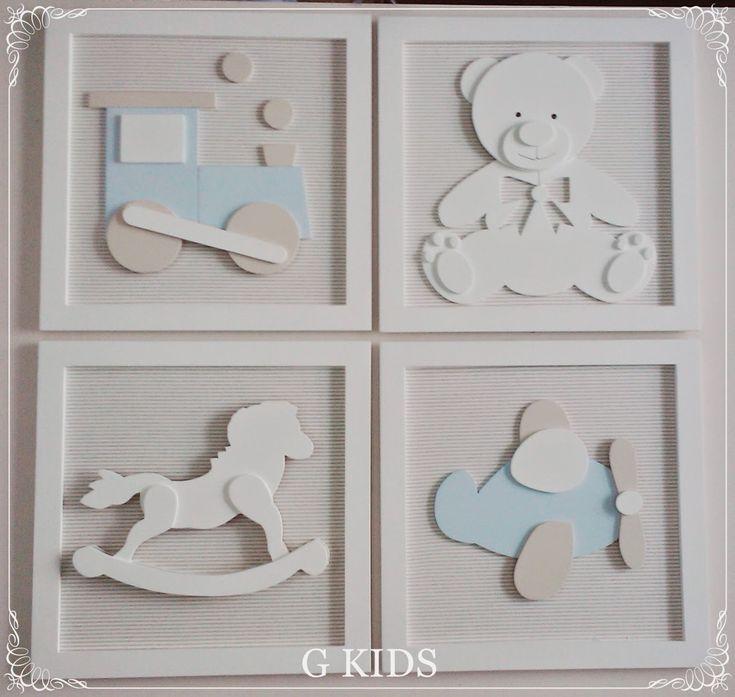 G KIDS: Quadros Bebê Brinquedos,Kit 4 quadros Decoração, baby decor, decoraçao quarto bebê, Decoração quarto meninos, enfeite de quarto, Kit quadros, quadros bege, quadros brinquedos antigos, #nursery #cute #babyroom