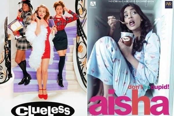 Foreign Movies That Ripped Off American Films - Beverly Hills was swapped for upper class life in Delhi, India in Aisha. Only this time, Cher is Sonam Kapoor, a girl who's all about match-making.