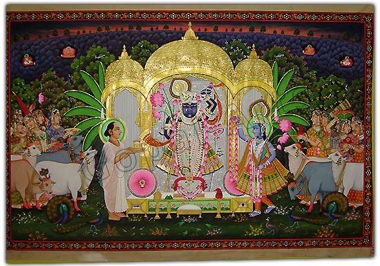 Wel - Come To Gopal Arts - Nathdwara ( Rajasthan ) - India - Pichwai