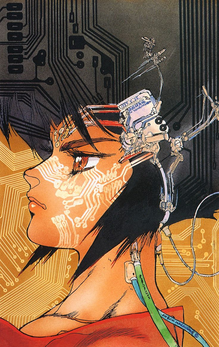 Ghost in the Shell, Shiro Masamune