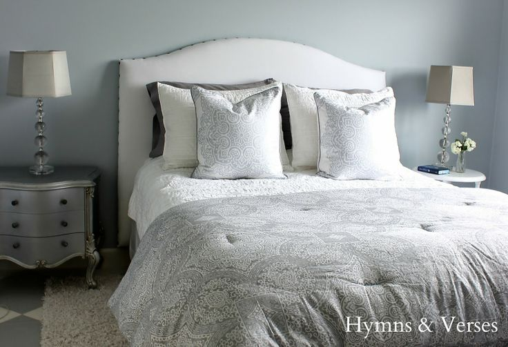 DIY Upholstered Headboard Tutorial | Hymns and Verses: http://www.hymnsandverses.com/2014/05/diy-upholstered-headboard-tutorial.html