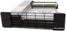 Beacon Morris 520023 11 in. Twin-Flow Iii Kickspace Heater by Beacon Morris. $279.00. 2 speed fan switch.. Dimensions: 11 x 19-1/4.. Great Gift Idea.. Sealed triple ball bearings provide the ultimate protection for the motor and fan. Installs under cabinets in kitchens, baths, and foyers, also under stair risers and. Twin-Flow Iii Kickspace Heater 36CFM. Installs under cabinets in kitchens, baths, and foyers, also under stair risers and windows. 2 speed fan switch. Sea...