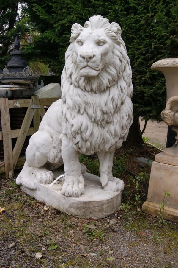 Lion Statue Painting Pinterest Search Lion And Muscle