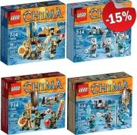 LEGO Chima Vaandeldragers Collection