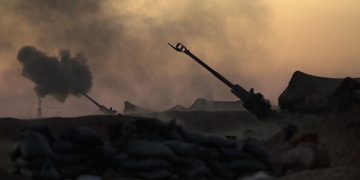 Marine artillerymen have been in the fight against ISIS since March 2016, and now there's a new video of their latest exploits in Syria.