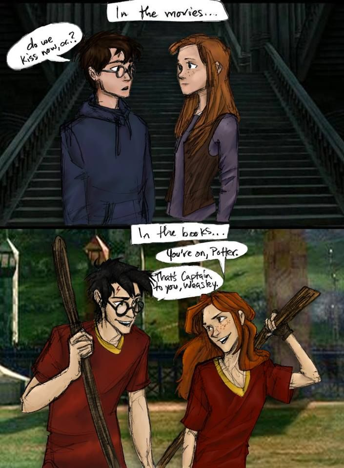Bonnie is great, she really is, but Ginny's character just doesn't have much substance in the movies.