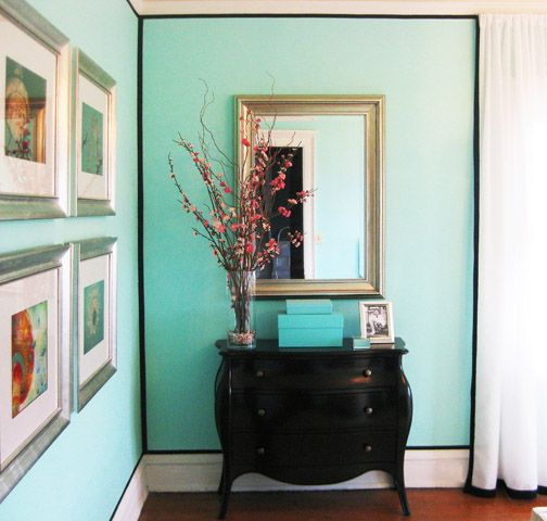 someday imma try the gluing on ribbon thing aqua walls. Black Bedroom Furniture Sets. Home Design Ideas
