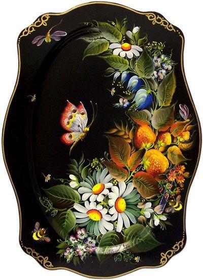 Gallery.ru / Фото #74 - Цветочная роспись - Uralartlak