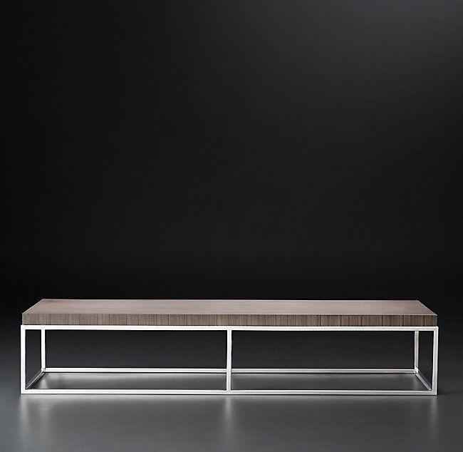 Nicholas Paldao Large Rectangular Coffee Table Modern Coffee
