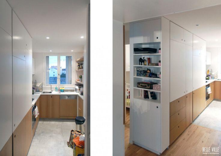 atelier b b rencontre un archi archi cuisine. Black Bedroom Furniture Sets. Home Design Ideas