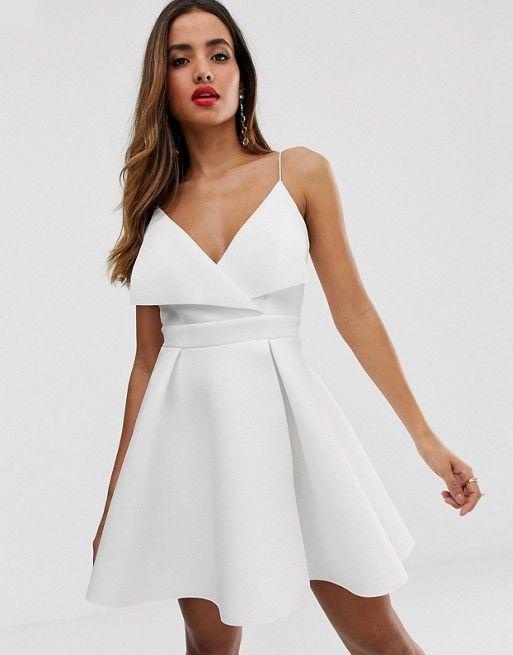 Fold Scuba Design In Front 2019Senior Dress Mini Skater X8n0PNwOk