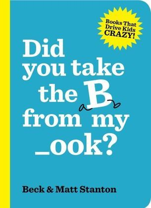 Did you take the B from my _ook | http://themultitaskingwoman.com/did-you-take-b-from-my-book/