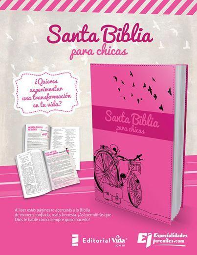 Biblia NVI para Chicas #EspecialidadesJuveniles